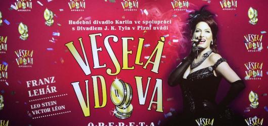 Spolupráce Karlína s Plzní přinese slavnou operetu. Veselá vdova se chystá na svou zimní premiéru