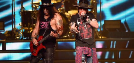 Guns'n'Roses dorazí v červnu znova do Prahy. S Axlem i Slashem