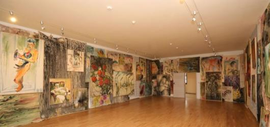 Podzimní výstavy na jihu Čech: nábytek Oble, sametová revoluce i glyfosáty Andreje Dúbravského