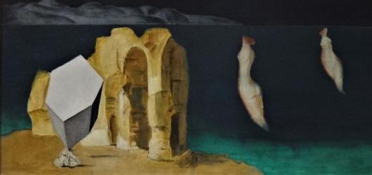 Cesta francouzskou spirálou. Ztemnělá tvorba Josefa Šímy v Národní galerii