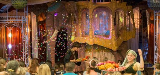 Aladin Divadla bratří Formanů vás vezme do světa fantazie a orientálních příběhů