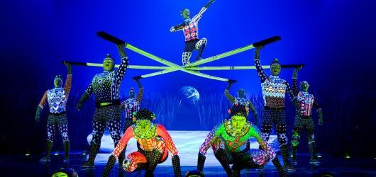 Cirque Du Soleil vymění O2 arénu za velké šapitó. Doveze show o vývoji lidstva