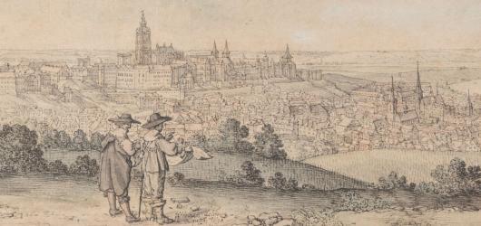 Národní galerie představuje jako první na světě výstavu kreseb Václava Hollara