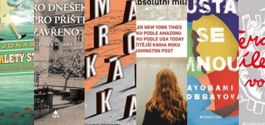 6 únorových knižních novinek, které by vám neměly uniknout