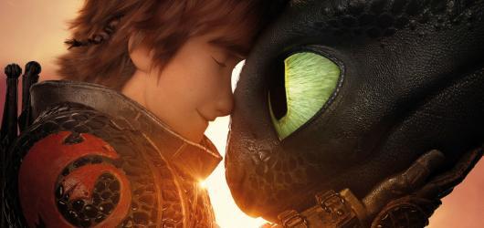 Větší romantika jak v Lásce nebeské. Jak vycvičit draka napotřetí ubralo na vtipu a přidalo na patetických scénách