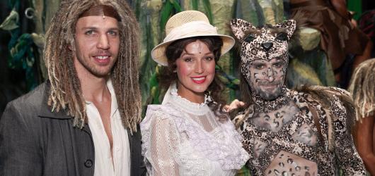Muzikál Tarzan zaujme bohatou výpravou i kostýmy. Obsazení schvaloval Walt Disney