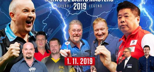 SOUTĚŽ: Vyhrajte vstupenky na exhibici šipkařských legend Prague Darts Masters