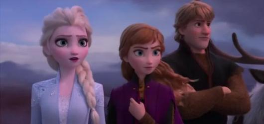 Disneyovská scenérie druhého Ledového království pořád dokáže uhranout, postavy už se ale vyčerpaly