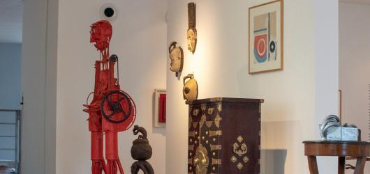 Račte vstoupit. Vhled do domu a života Jana a Medy Mládkových nabízí Museum Kampa