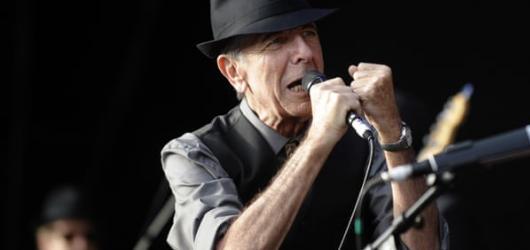 Leonard Cohen děkuje za tanec ze světa mrtvých. Vyjde jeho posmrtné album Thanks for the Dance