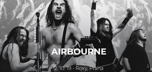 Australská hardrocková kapela Airbourne se po devíti letech vrací do Prahy