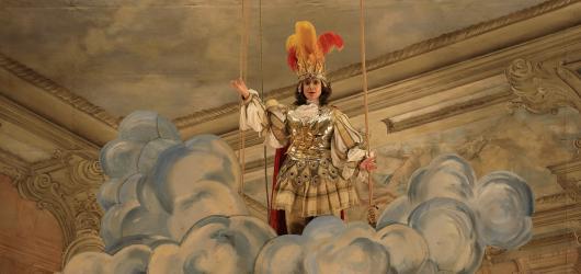 Händelova Terpsichora zazářila v historickém barokním divadle českokrumlovského zámku