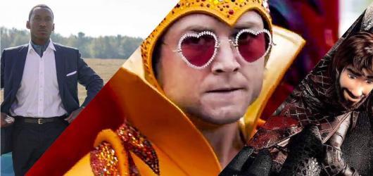 Filmový přehled, týden #8: Vítěz Oscarů Zelená kniha, festival La Película a nový trailer na biografický film o Eltonu Johnovi