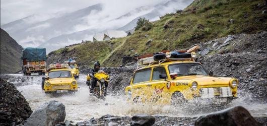 Čtvrtý den LFŠ: Se žlutým cirkusem přes Himaláje až domů