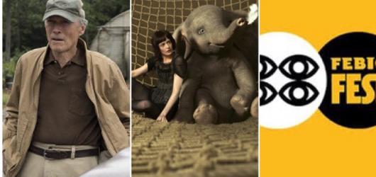 Filmový týden #12: ozvěny Febiofestu, další zoufalá česká komedie a Burtonův nepovedený Dumbo