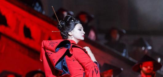 Diváky Otáčivého hlediště oslnila premiéra opery Turandot