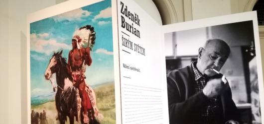 Obecní dům otevřel výstavu malířského vypravěče příběhů Zdeňka Buriana