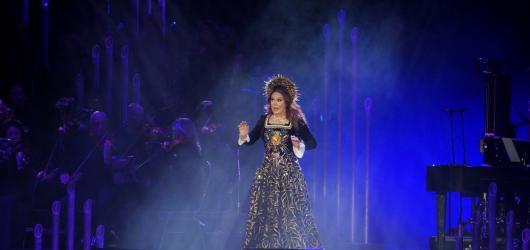 Sarah Brightman zářila v Praze. Představila nové album Hymn i největší skladby své kariéry