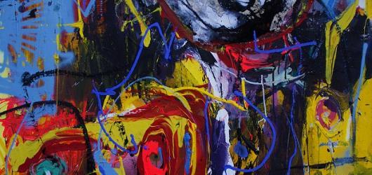 Me Too, Too Me. Díla provokativního malíře Dana Trantiny ukazuje Černá labuť