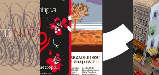 Zakázaný čínský román, křehké básně i povídky o pandemii. Přinášíme prosincové knižní novinky