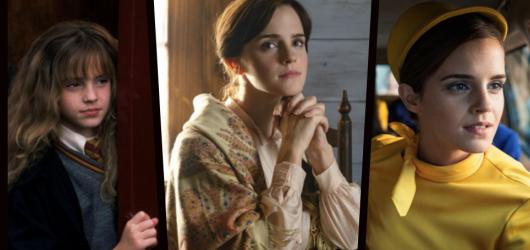 Emma Watson slaví kulaté 30. narozeniny. Připomeňme si filmy, ve kterých hrála