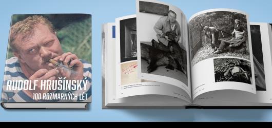 Rudolf Hrušínský by se v říjnu dožil stovky, Divadlo na Jezerce mu věnuje výpravnou knihu