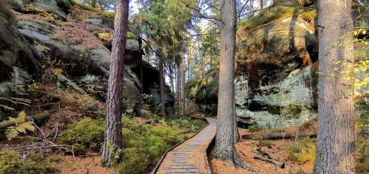 Výlety do přírody: Z Frýdštejna do skalního města Drábovna