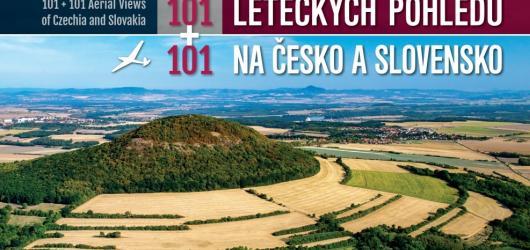 Kniha 101 + 101 leteckých pohledů na Česko a Slovensko je oslavou krásy obou zemí i připomenutím jejich blízkosti