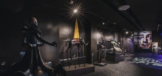 Muzeum Salvadora Dalího v Praze se znovuotevřelo veřejnosti