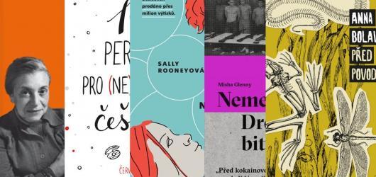 Bestseller Normální lidi i temná novela Anny Bolavé. Přinášíme říjnové knižní novinky