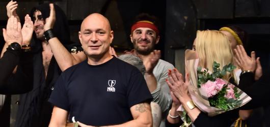 Daniel Landa oslavil v Divadle Kalich 150. reprízu nejnovějšího nastudování muzikálu Krysař