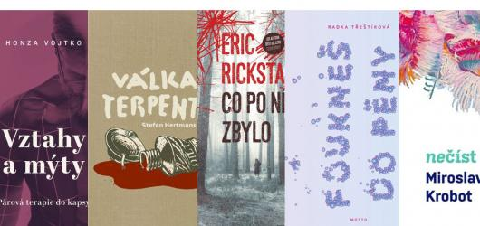 Román Radky Třeštíkové i prvotina Miroslava Krobota. Přinášíme květnové knižní novinky