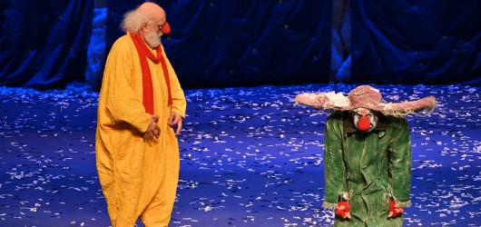 Snowshow Slavy Polunina vás vrátí do dětských let. Nadchne malé i velké diváky
