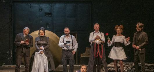Staňte se svědky Zmoudření Dona Quijota v Divadle na Vinohradech