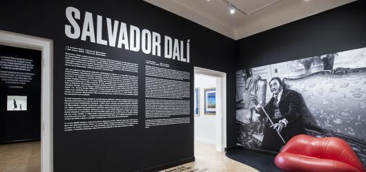 Z GOAP na Central Gallery. Modernizovaná pražská galerie rozšiřuje expozici Salvadora Dalího