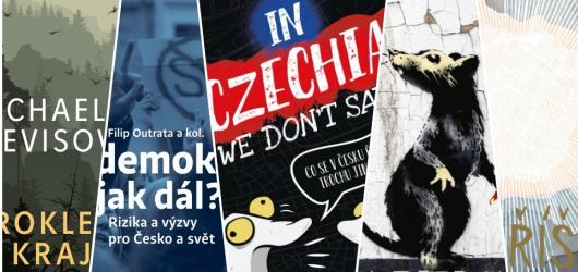 Prokletý kraj, Banksy a co se v Česku neříká. Přinášíme srpnové knižní novinky