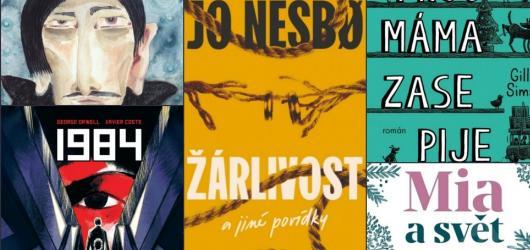 Nový Nesbø, komiksový Orwell a máma už zase pije. Přinášíme zářijové knižní novinky