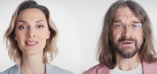 Co je to domů? Barbora Poláková a Dan Bárta v ukolébavce zpívají pro děti z kojeneckých ústavů