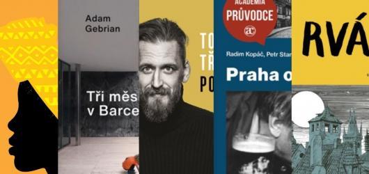 Gebrianova vzpomínka na Barcelonu i autobiografie Tomáše Třeštíka. Přinášíme únorové knižní novinky