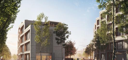 Areál nákladového nádraží Žižkov se promění v byty i kulturní centrum. Budoucnost místa odhaluje výstava