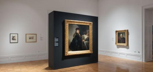 Národní galerie spustila virtuální prohlídku výstavního hitu Rembrandt: Portrét člověka