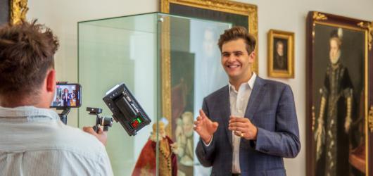 Lobkowiczký palác nabídne zdarma živé virtuální prohlídky