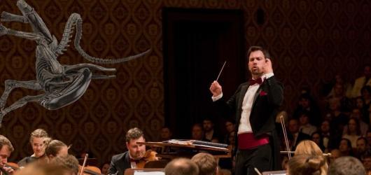 Vetřelci v Rudolfinu. Filmharmonie chystá večer s hudbou Jamese Hornera