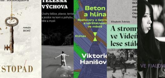 Šimečka o fyzických limitech i 'revoluční' román Aleny Mornštajnové. Přinášíme dubnové knižní novinky