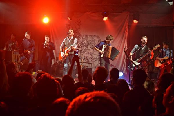 Ústí nad Labem bylo předposlední zastávkou prosincového Jelen Backstage Tour 2015.