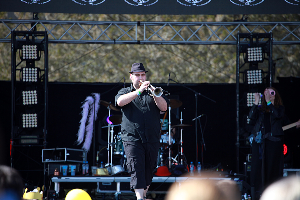 Pavel Herzog z kapely Sto zvířat