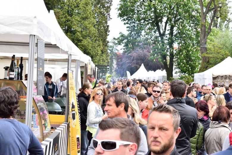 Garden Food Festival provoněl o víkendu olomoucké výstaviště. Nabídl vybrané lahůdky i Pohlreicha s Pawlowskou
