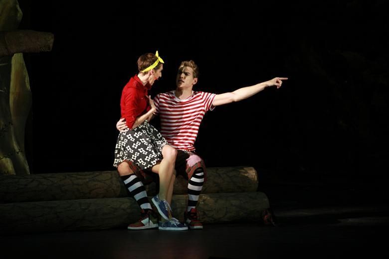 Muzikál Ať žijí duchové! přenáší známé filmové hity na divadelní pódium. Vtipně a hravě