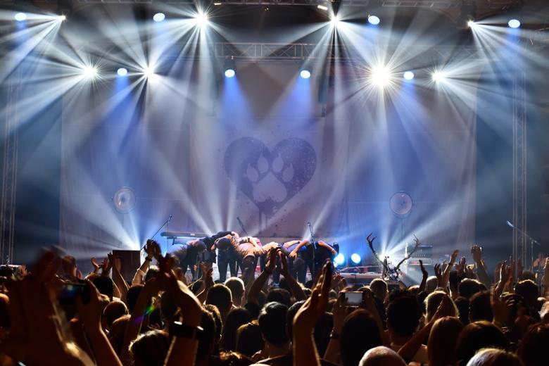 Vlčí srdce bilo v Lucerně. Jeleni zakončili podzimní turné pražskou zastávkou