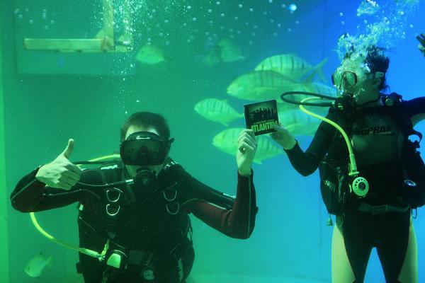 Muzikál Atlantida pokřtil CD v Mořském světě